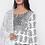 Thumbnail: Chacha's101755 printed cotton kurta with printed dupatta and solid palazzo pants