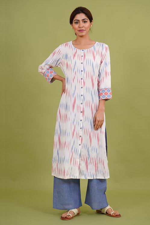 Chacha's 21352 printed cotton kurta set