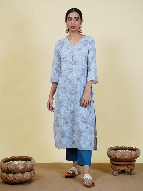 Chacha's 101918 printed cotton kurta set