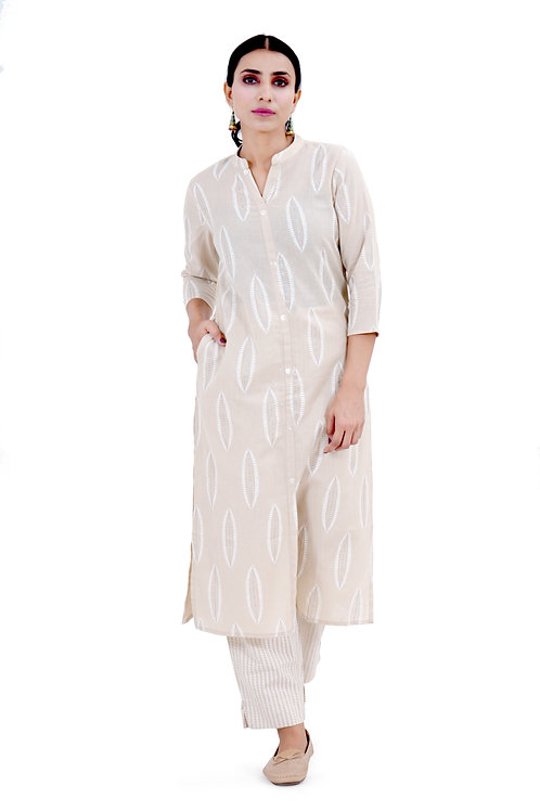 Chacha's101716 cotton kurta palaazo set