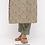 Thumbnail: Chacha's171053 printed cotton kurta with pants and face mask