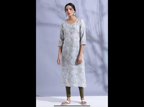 Chacha's 120054 Digital print muslin cotton kurta