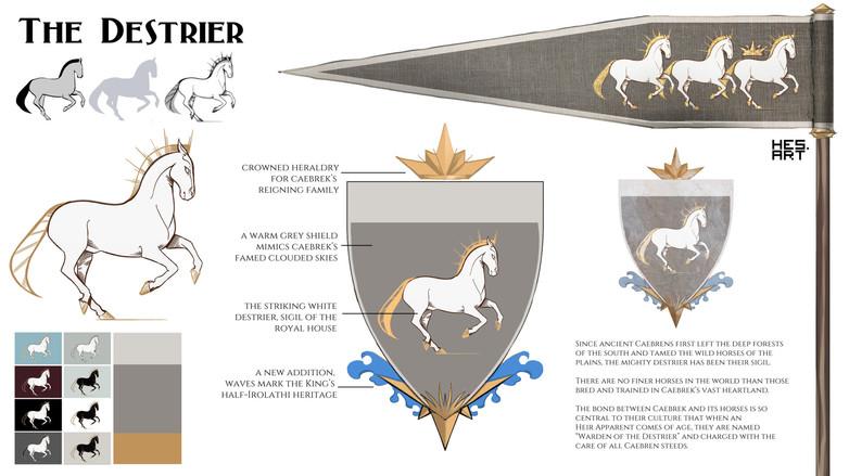 Destrier- the royal standard