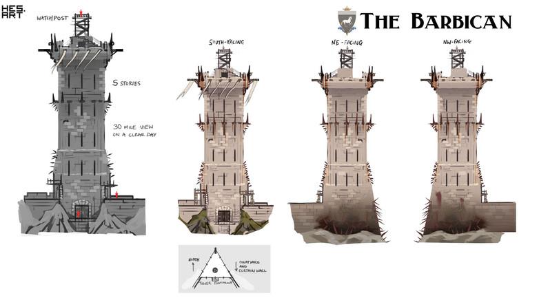 Destrier - fortress tower