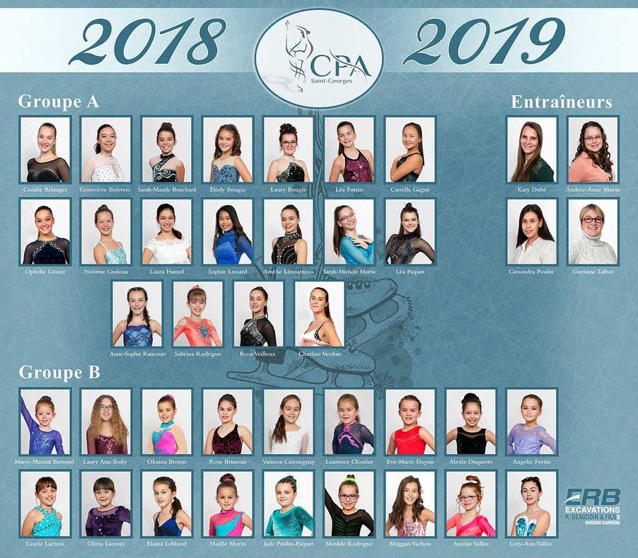 Club de patinage 2018-2019