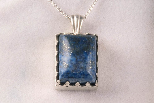 Lapis Lazuli-Afghanistan Reliquaire P7-E