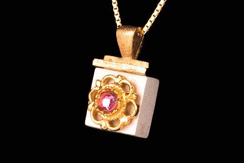Pendatif-reliquaire collection Rose PE11