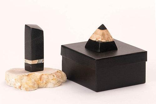 Pyramide Géode Reliquaire G-4