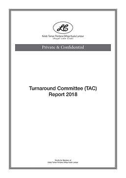 8.  Turnaround Committee (TAC) Report 20