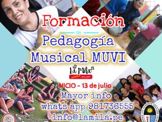 Formación en Pedagogía Musical MUVI