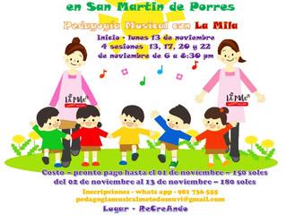 6to Taller MUVI en Pedagogía Musical con La Mila