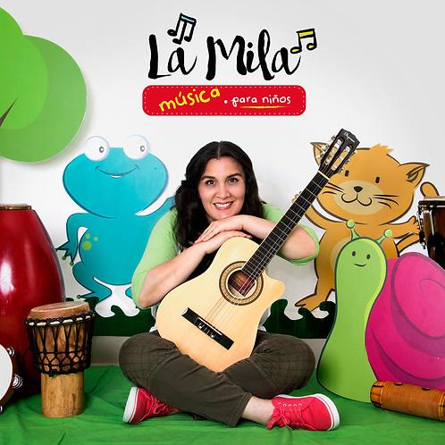 CD La Mila música para niños