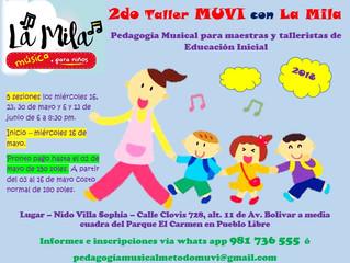 2do Taller MUVI en Pedagogía Musical con La Mila