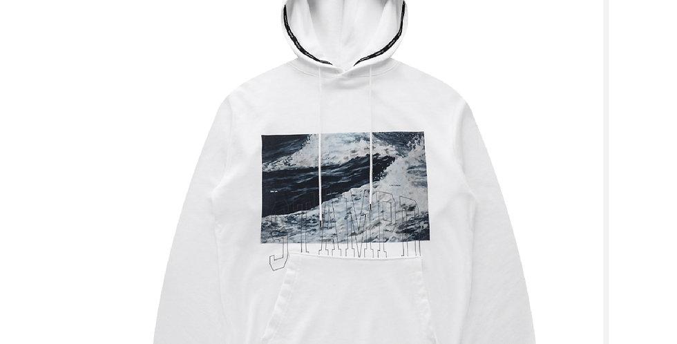 STAMPD /  WAVES HOODIE(White)