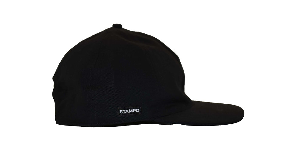 STAMPD / UN-STRUCTURED SPORT CAP(BLACK)