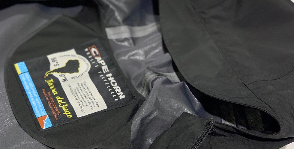 CAPE HORN / ナイロンフーデットパーカ(black)