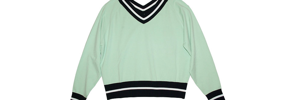 SPORT MAX CODE / Vneck collage sweater