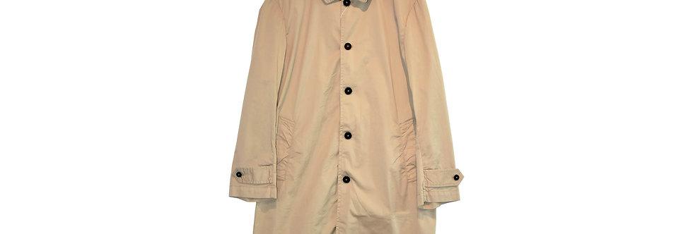 arbre / Cotton Stretch Stand Fall Collar Coat(Beige)