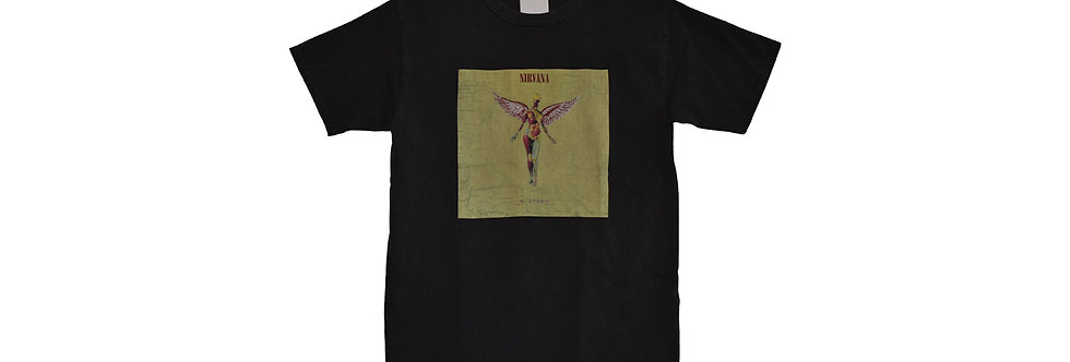 innsonia project /  NIRVANA 90'S VINTAGE T IN UTERO(Black)