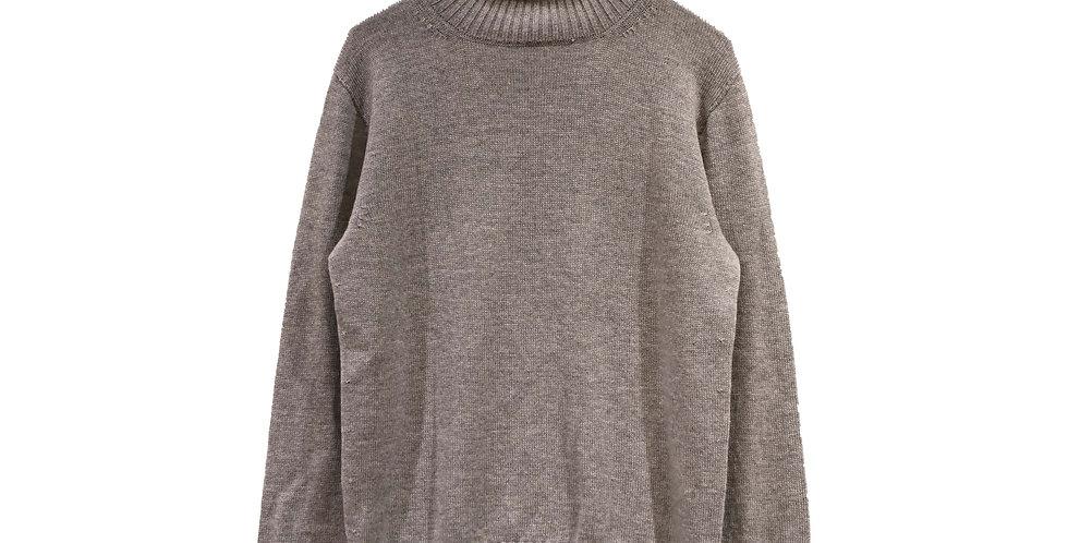 baruffa / ホールガーメントタートルネックニット(grey)