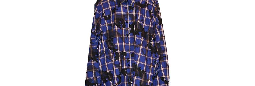 Solandrino / Bluette Check Flannell Mimetic