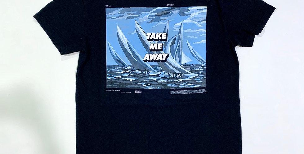 STAMPD / TAKE ME AWAY T-shirts(black)