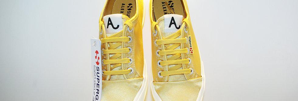 SUPERGA×ALEXACHUNG / SUNSHINE SATIN LOW-TOP(Yellow)