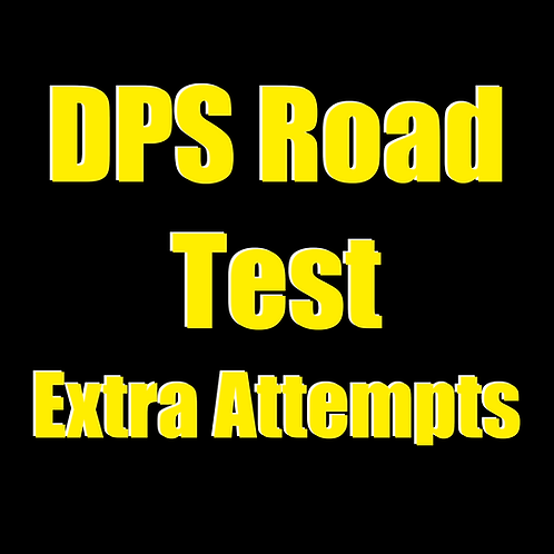 Extra Attempts - DPS Road Test