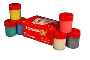 Tinta Guache Bambini Plus 15ml c/6