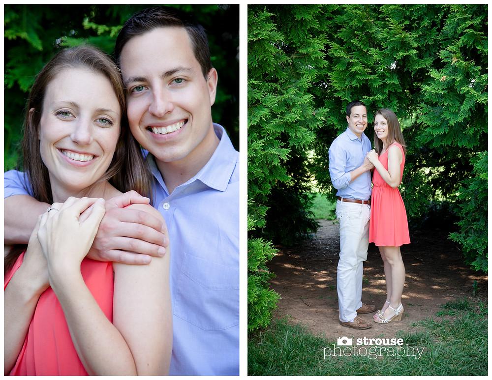 Kristen and Diego Engagement Pictures - Maymont, Richmond, Virginia