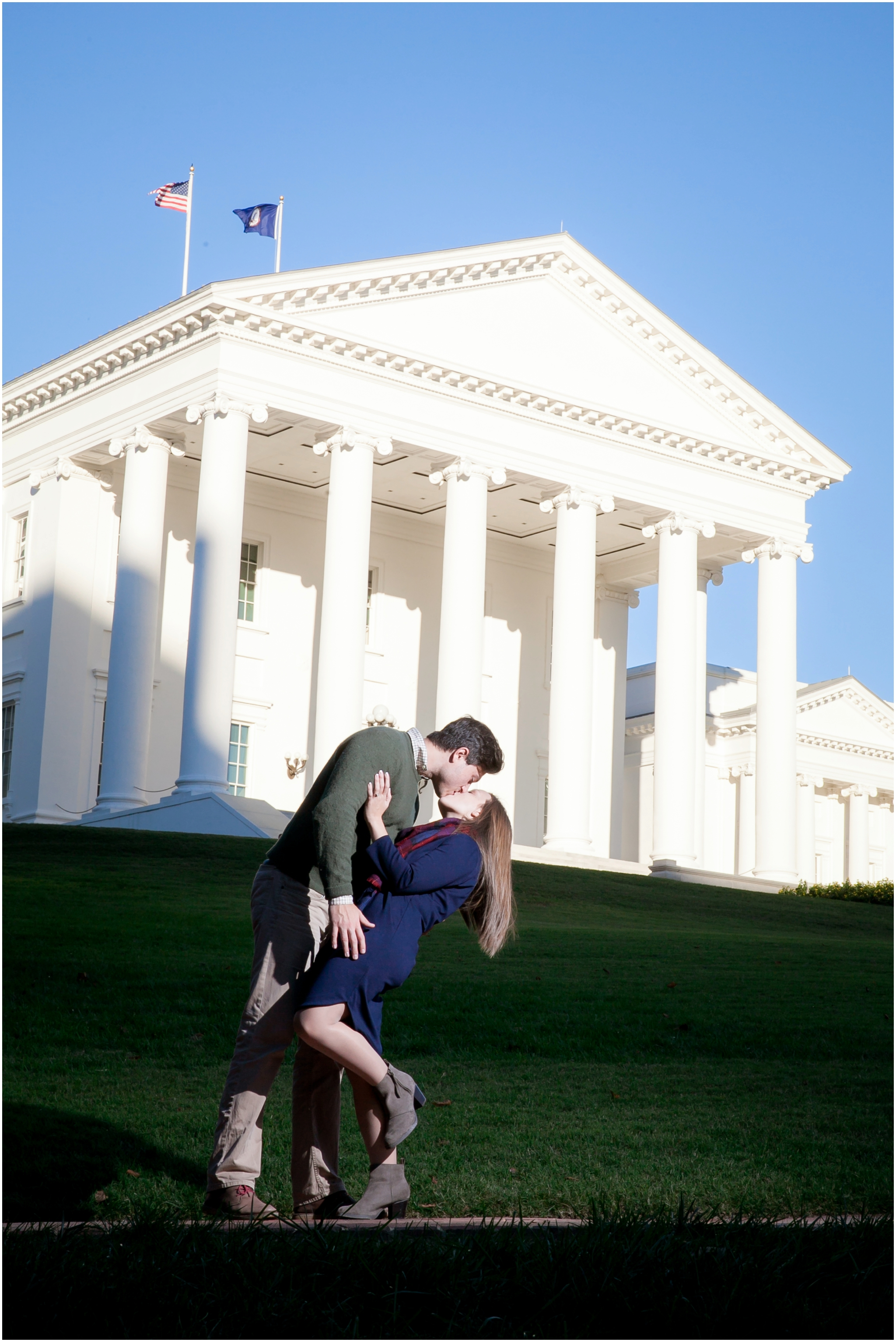 The Richmond Capitol Engagement Pics