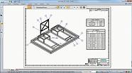 Solid Edge Structural Frame Design