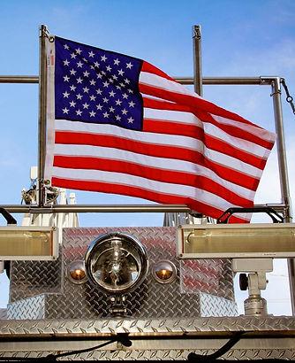 American Flag 2395 Creve Coeur Fire District