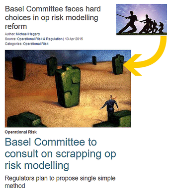 Scrapping Op Risk Modelling