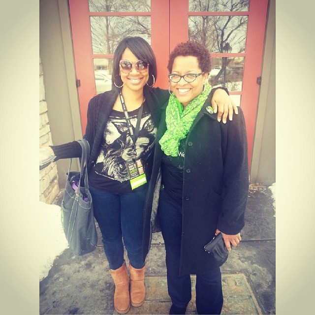 Facebook - Had brunch today with a fellow Distributor. I met her on Facebook and