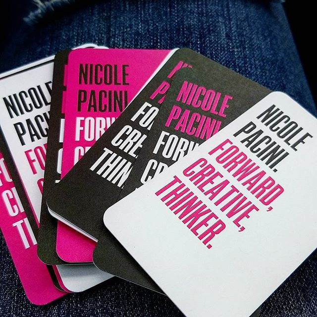 I LOVE my new business cards. Can not wait to order another set