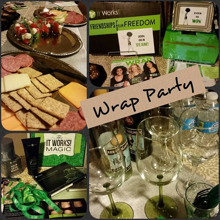 Facebook - Wrap Party on a Friday night! Why not?