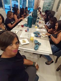 Dinner with The Family  #destinationdiamond16