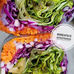 Fresh Veggie Spring Rolls.jpg #sogood _Go to _minneapolis_entreepreneur and HIT FOLLOW😍 You do not