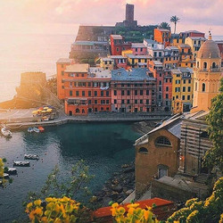 Cinque Terre, Italy__Five Lands__#bucketlist #dayinthelife #meetmethere #coastlife #italianriviera