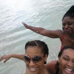Facebook - Caribbean Sea splashing