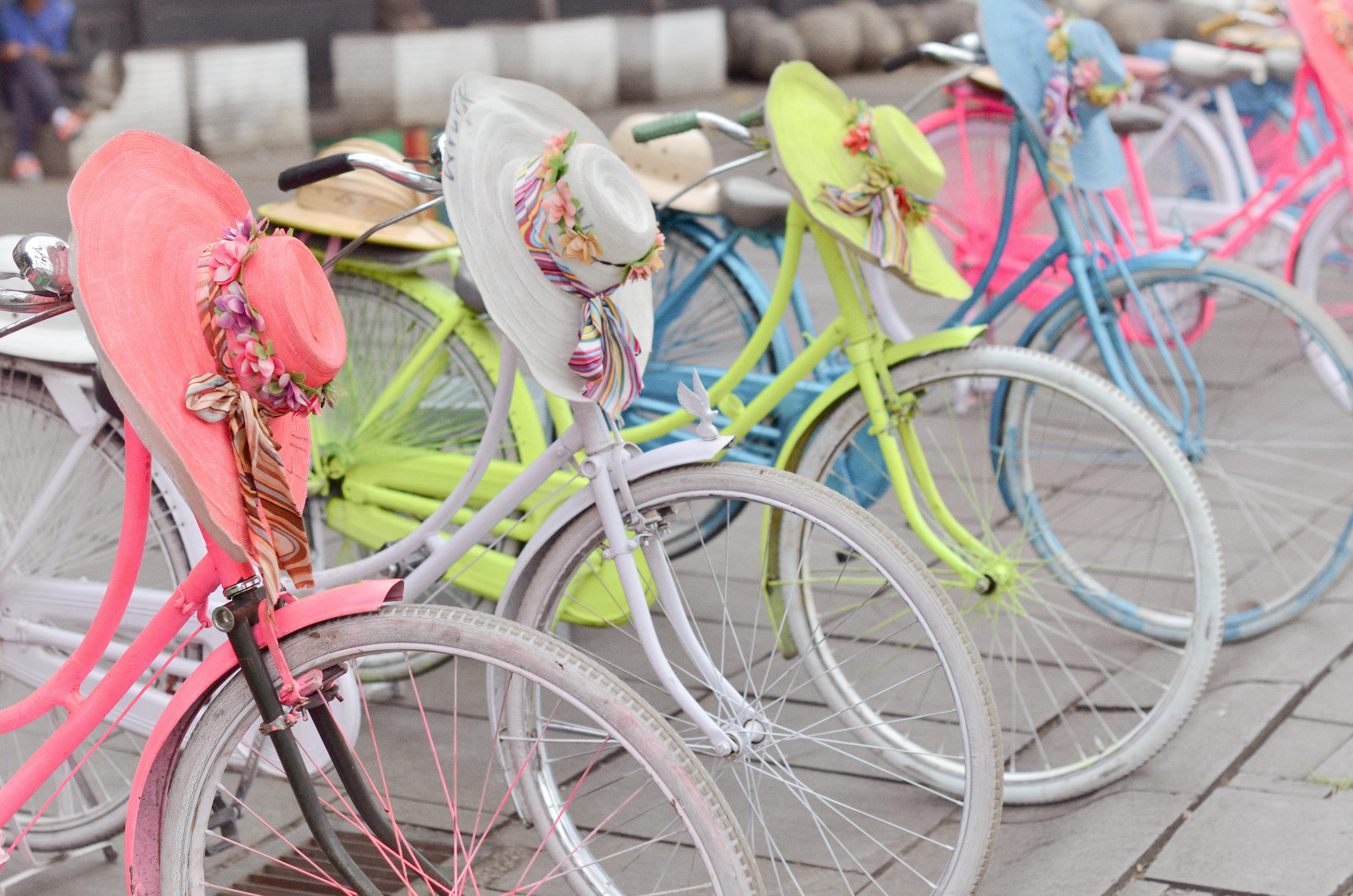 Jakara, Indonesia Pastel Bikes