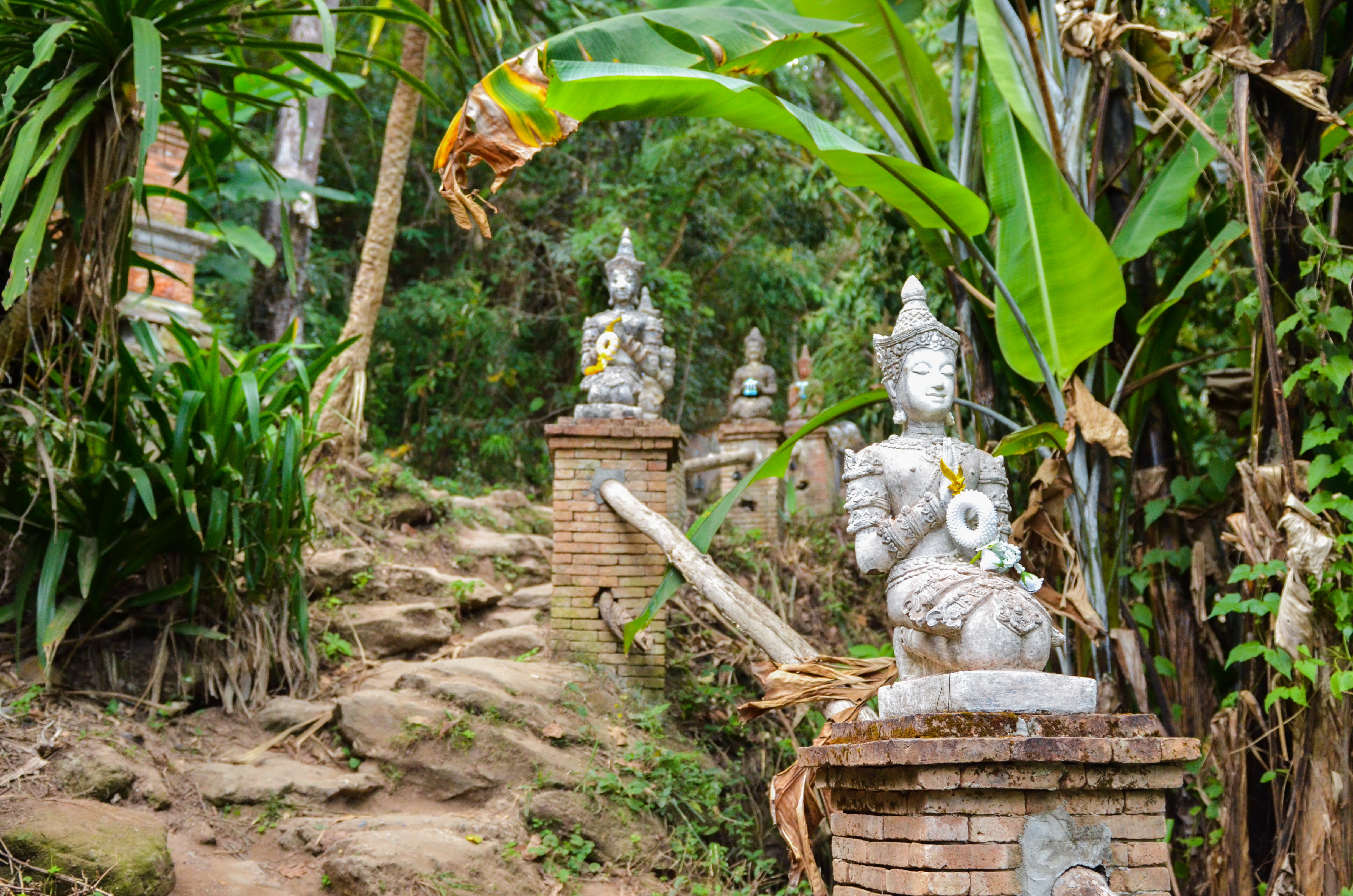 Wat Pha Lat Temple in Thailand