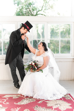 Dapper Steampunk Victorian Wedding