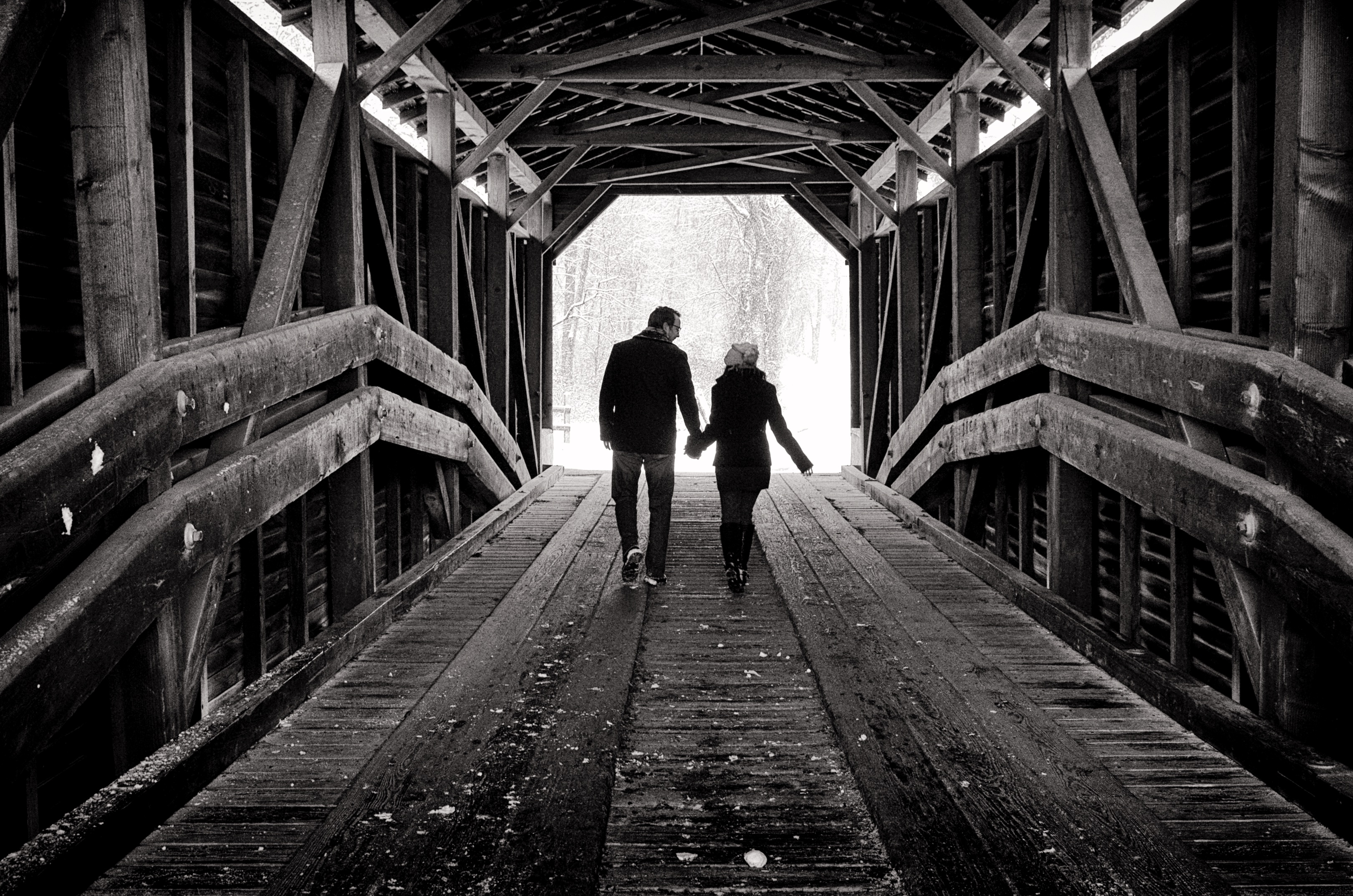 Gilpin's Covered Bridge Engagement