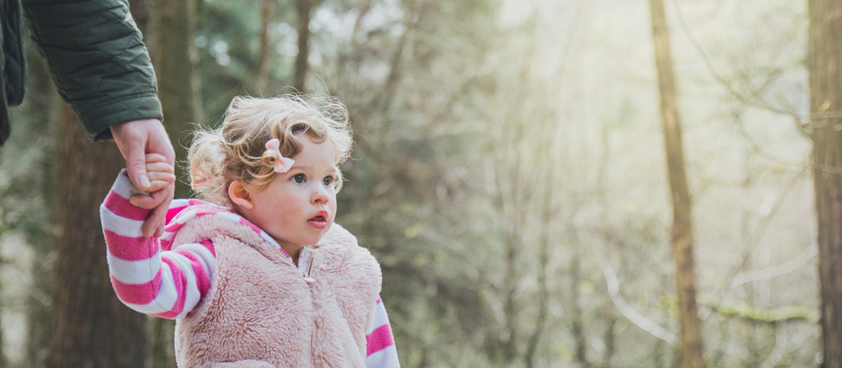 Bluebell Spotting in the Woods | Family Photographer Lancashire