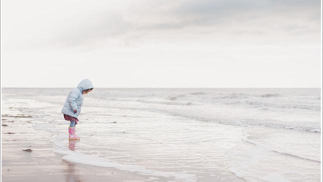 Light & Airy Beach Photo Shoot