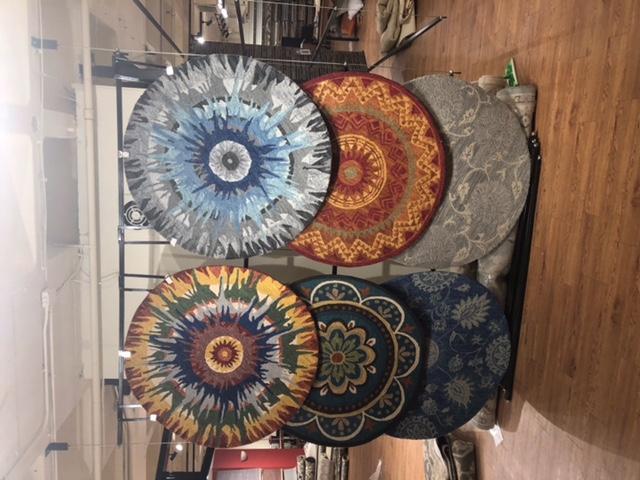 Round Rug Display