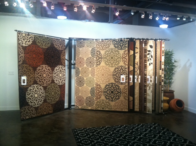 Area Rug Display
