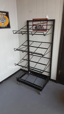 4 Shelf Sample Display